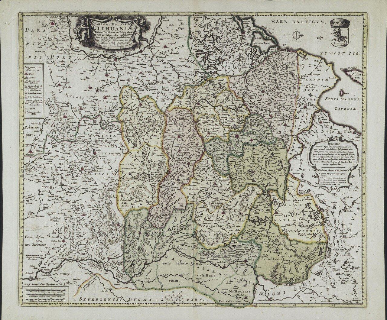 1721. Великое княжество Литовское