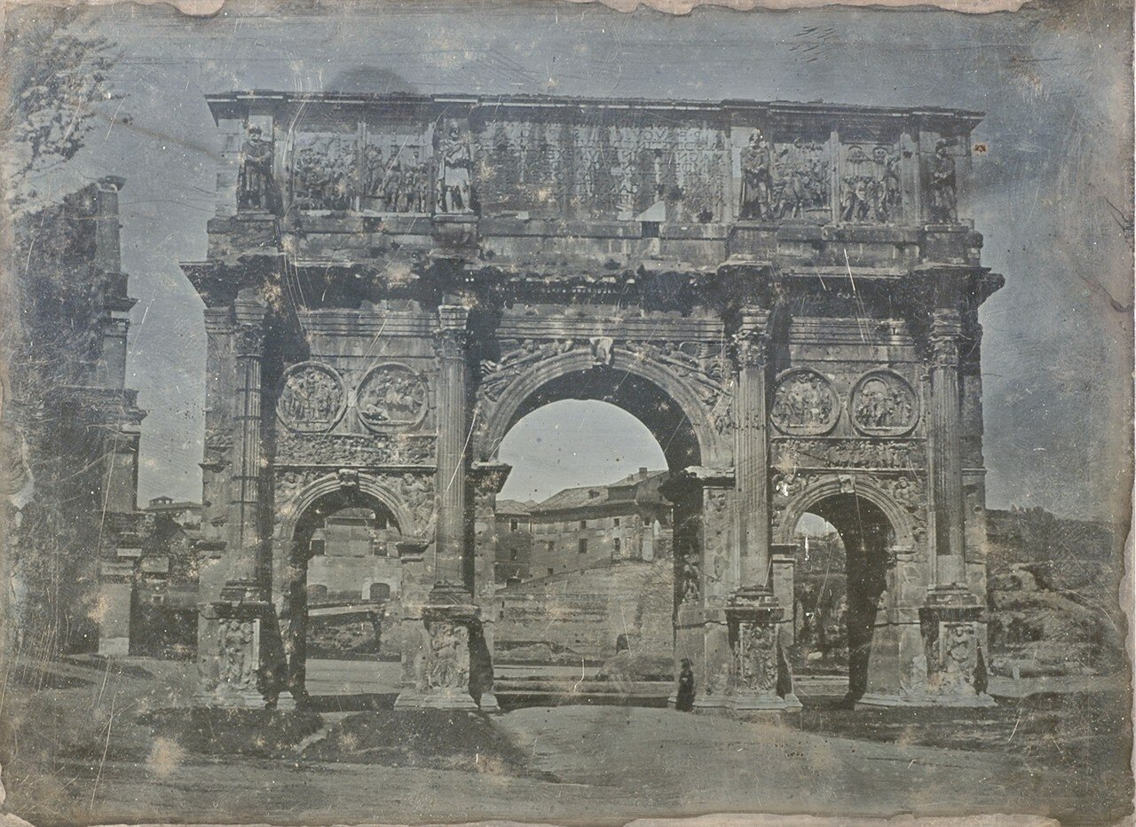 Арка Константина с Колизеем