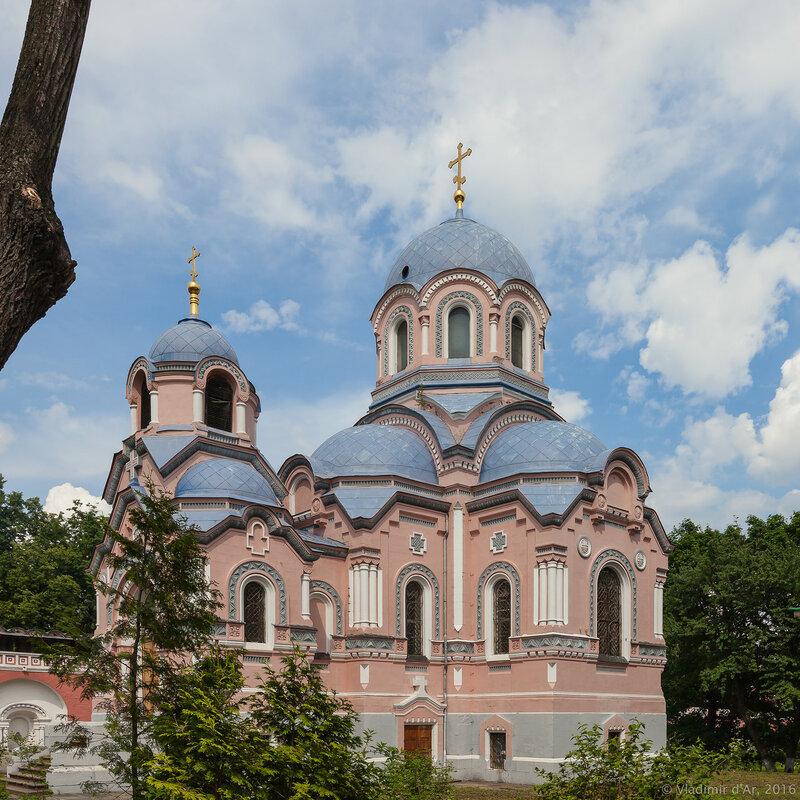 Церковь святителя Иоанна Златоуста. Донской монастырь.