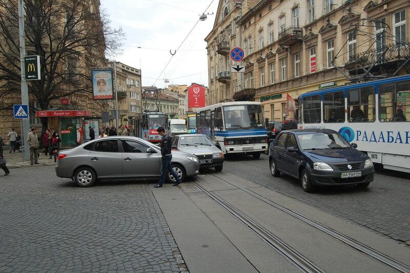 ДТП на ул. Ивана Франко