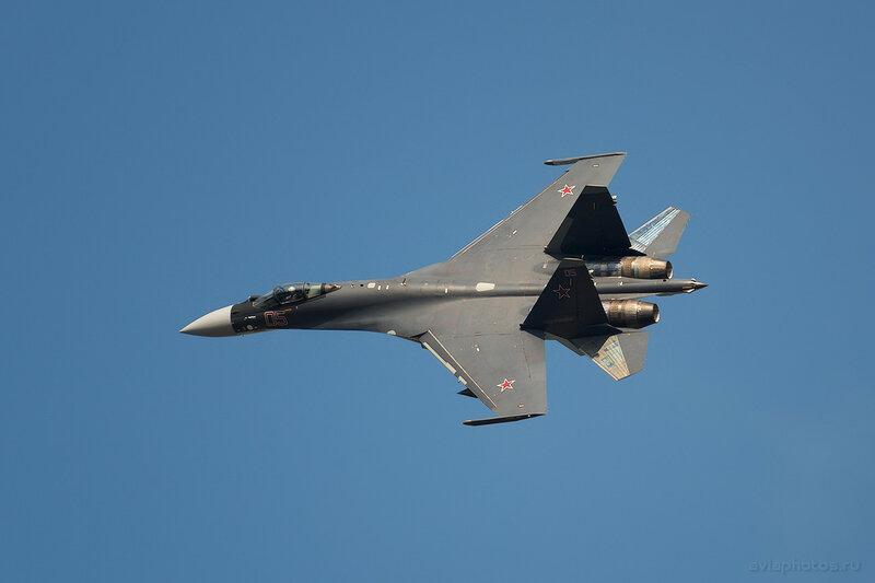 Сухой Су-35С (RF-95245 / 05 крансый) ВКС России 0950_D806327a