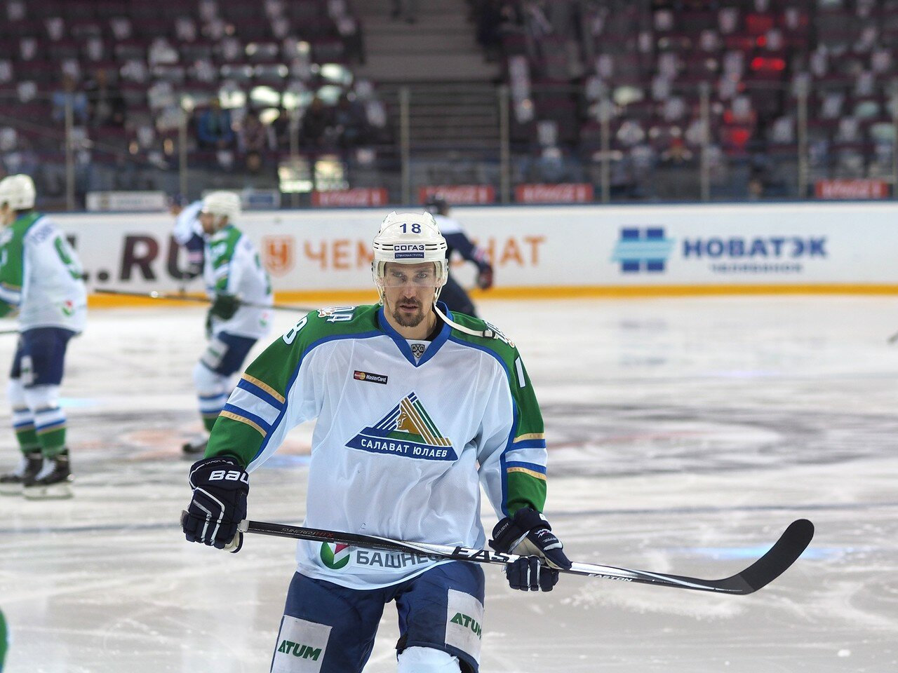 6Плей-офф 2016 Восток Финал Металлург - Салават Юлаев 23.03.2016