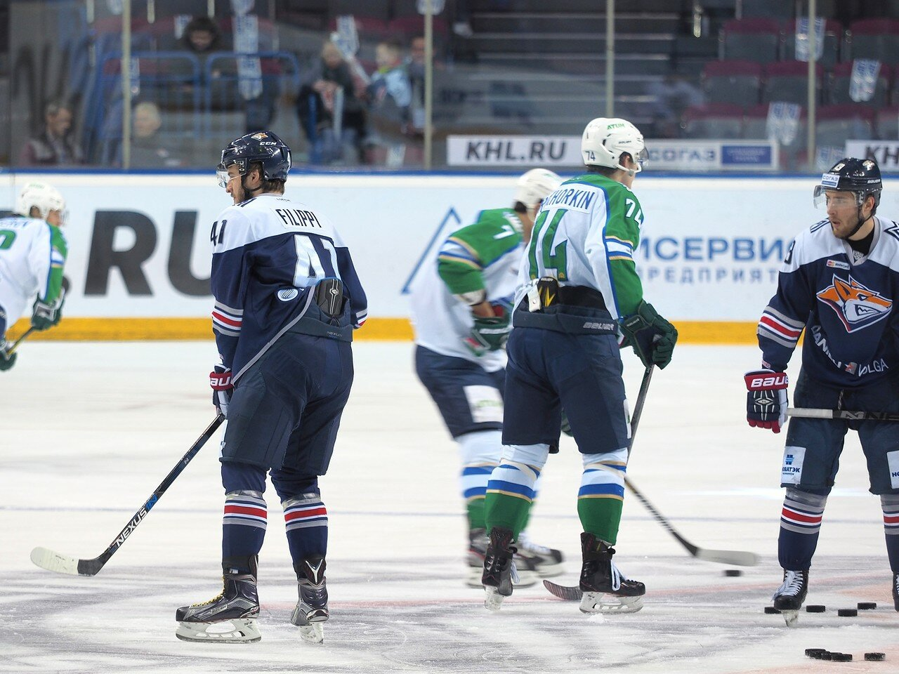 31Плей-офф 2016 Восток Финал Металлург - Салават Юлаев 23.03.2016
