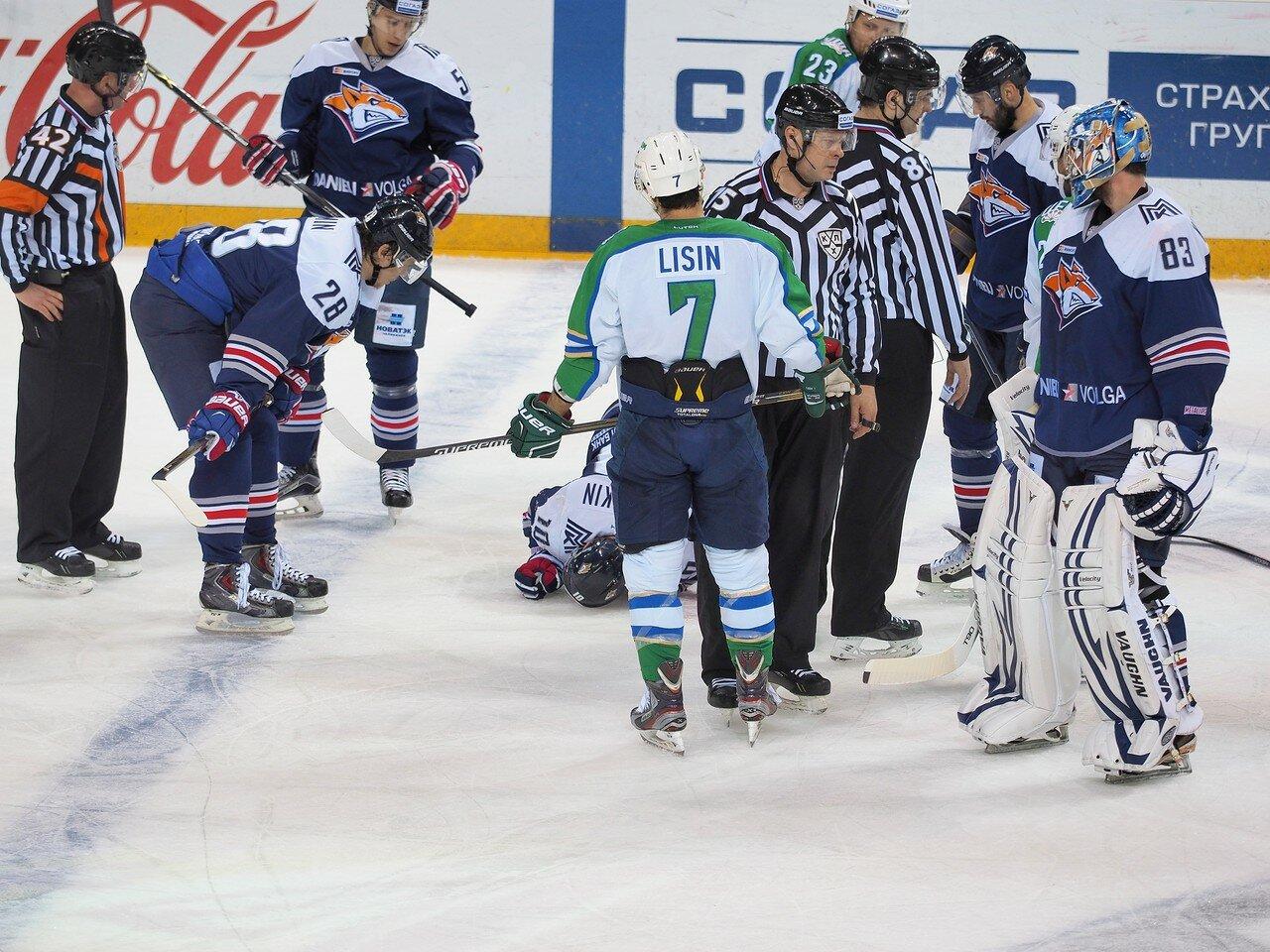 106Плей-офф 2016 Восток Финал Металлург - Салават Юлаев 23.03.2016