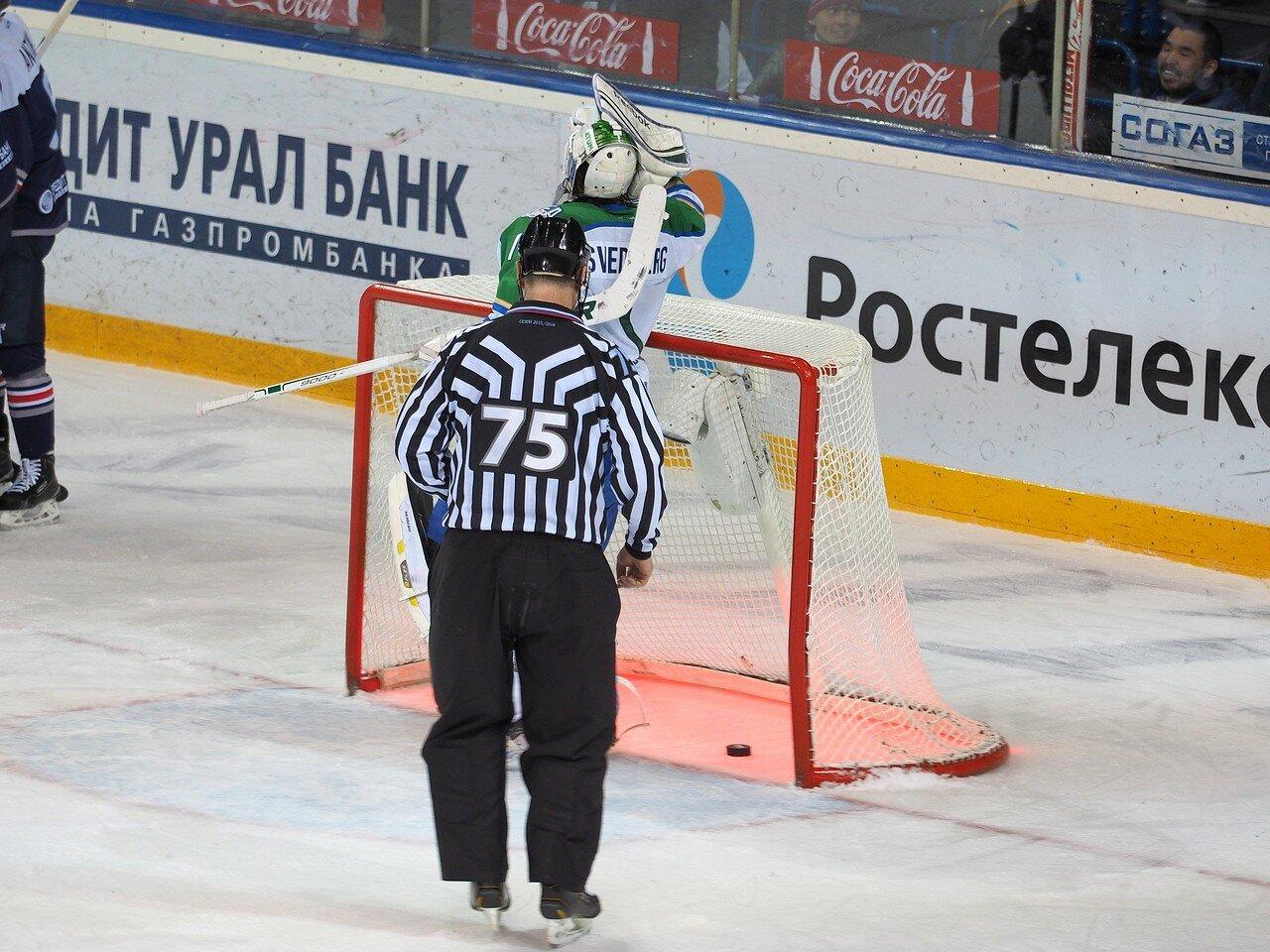 108Плей-офф 2016 Восток Финал Металлург - Салават Юлаев 23.03.2016