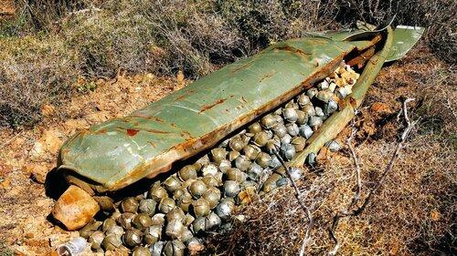 У границ Йемена нашли запрещенные бомбы Британии