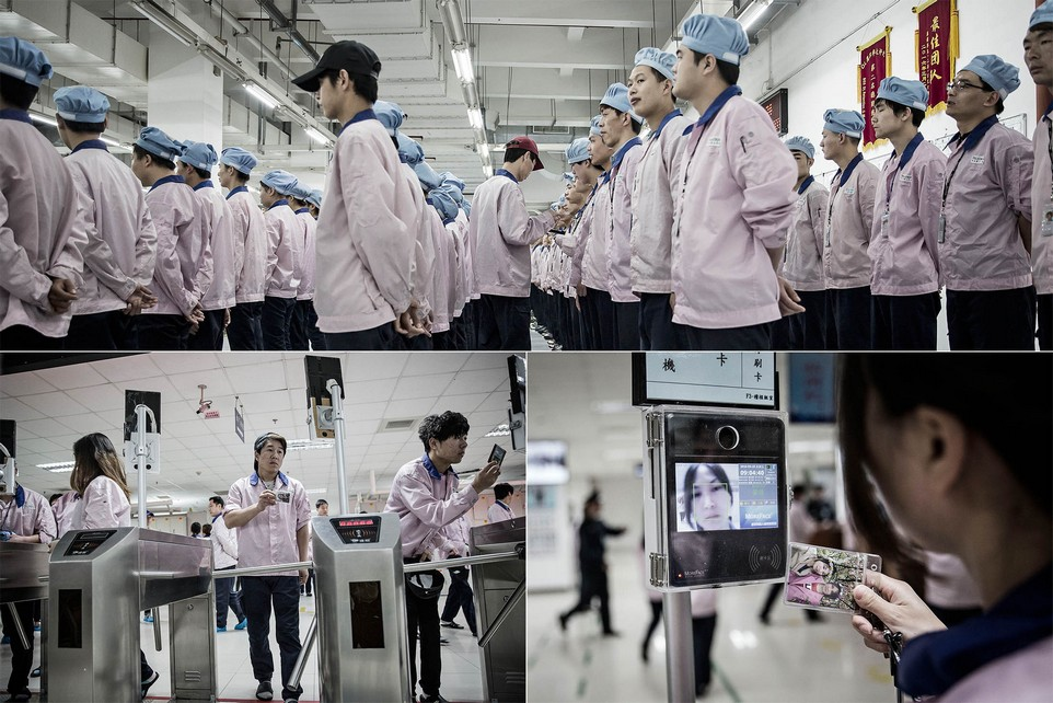 Фабрика по сборке iPhone в Китае