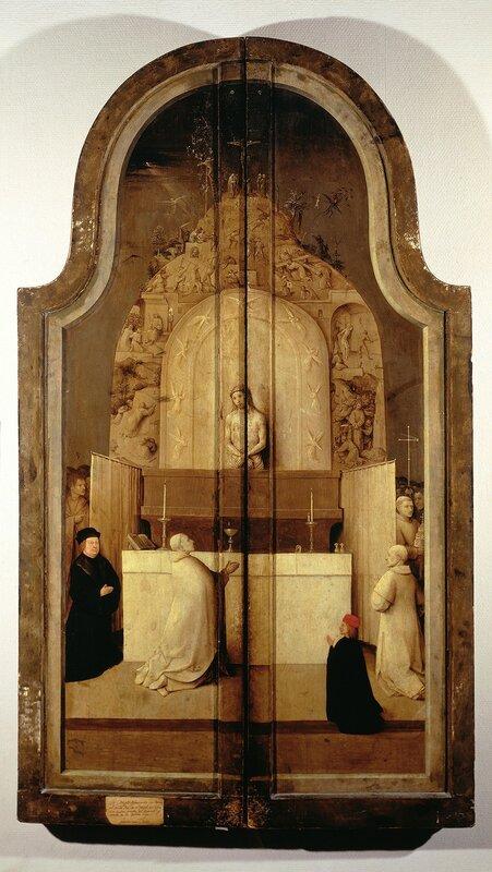 """30.1.Триптих """"Поклонение волхвов"""" (закрыт) (ок.1510) (138 × 72) (Мадрид, Прадо).jpg"""