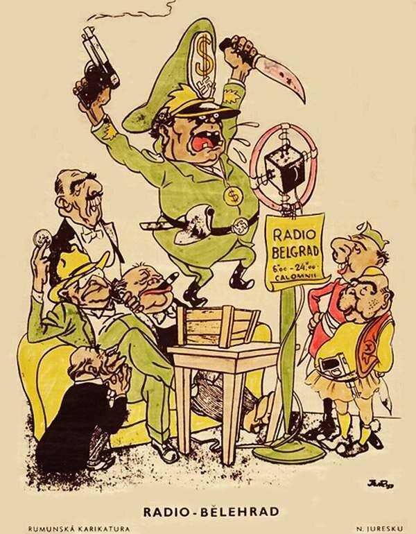 Тито в советских каррикатурах