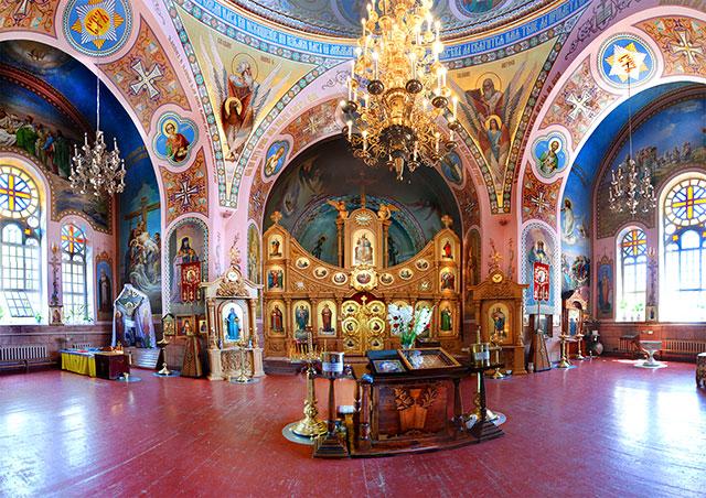 Храм Илии Пророка, интерьер, Евпатория, Крым