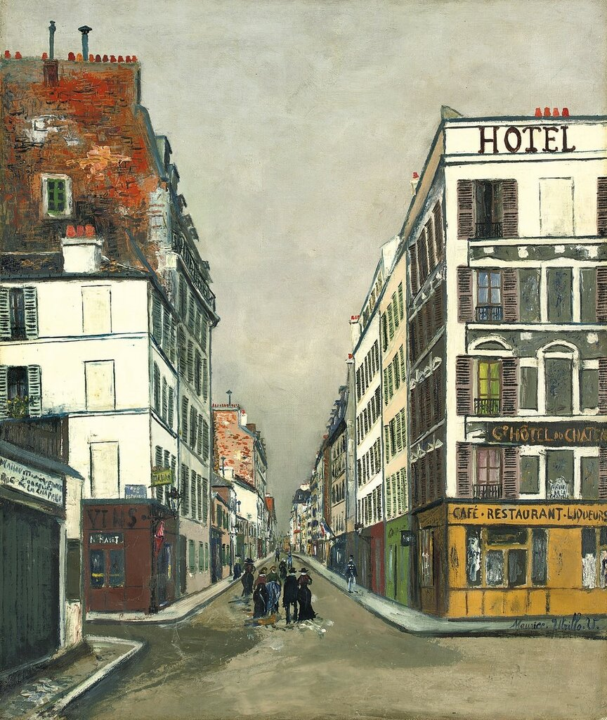 Philippe-de-Girard Street at Paris, 1919.jpg