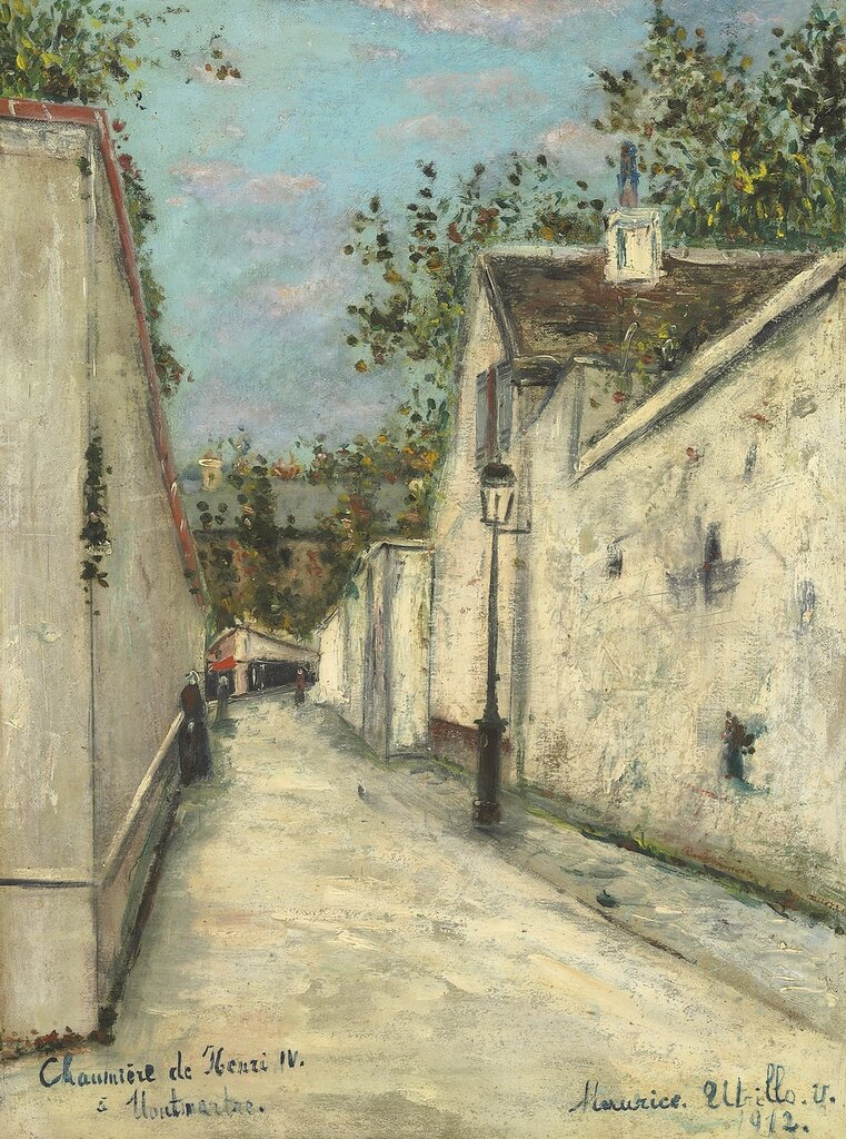 Thatched Houses on Montmartre, 1912.jpg