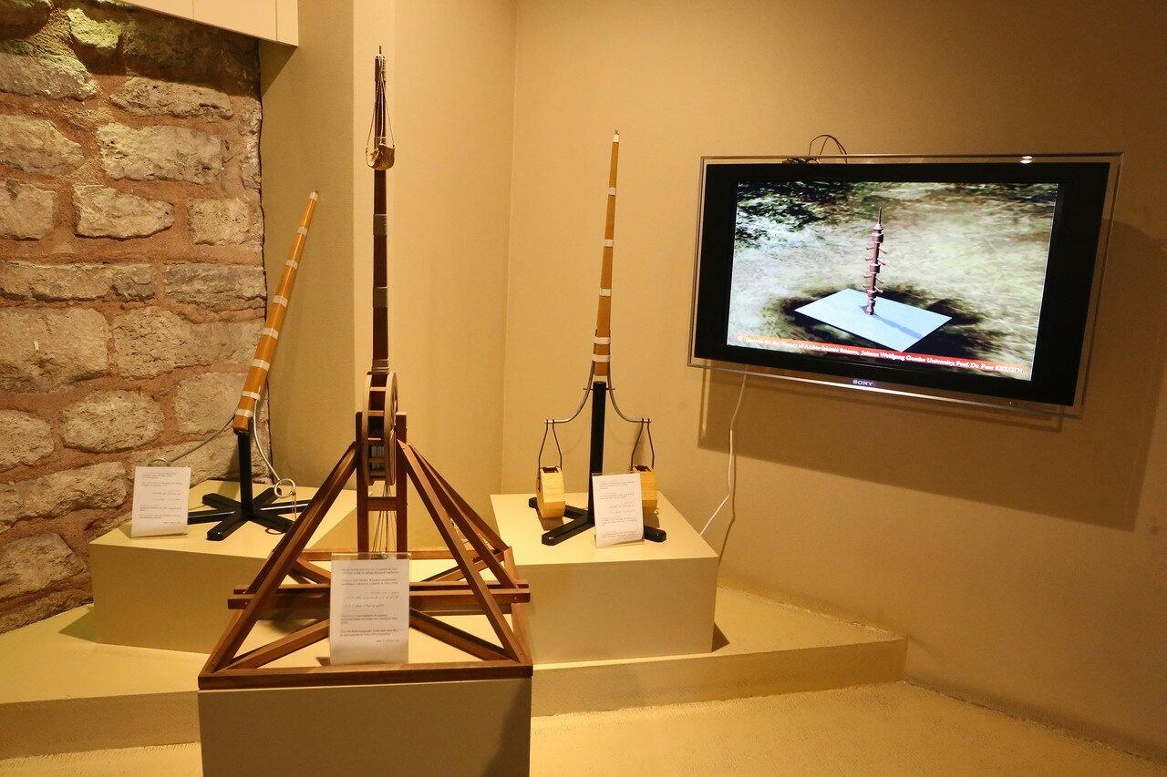 Стамбул. Музей истории исламской науки и техники. Осадные орудия