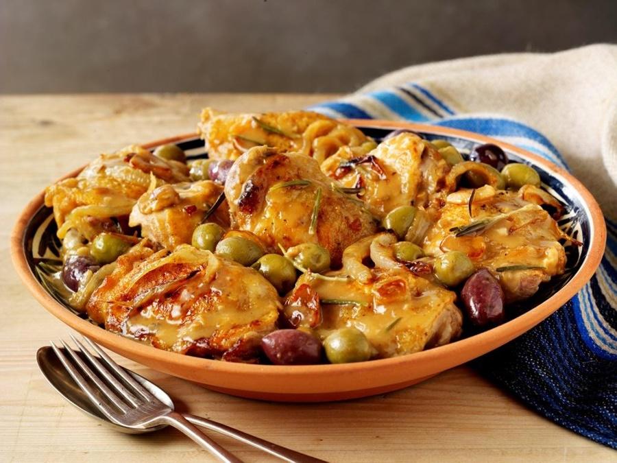 Курица по мадридски. Испанское блюдо