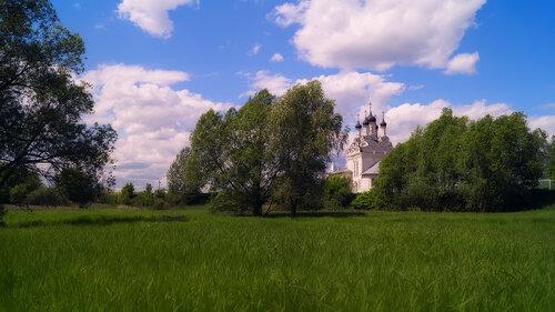 Храм Благовещения Пресвятой Богородицы в селе Тайнинском (Московская область)