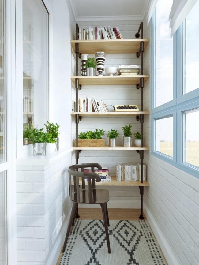 20идей, как превратить маленький балкон вуголок для отдыха