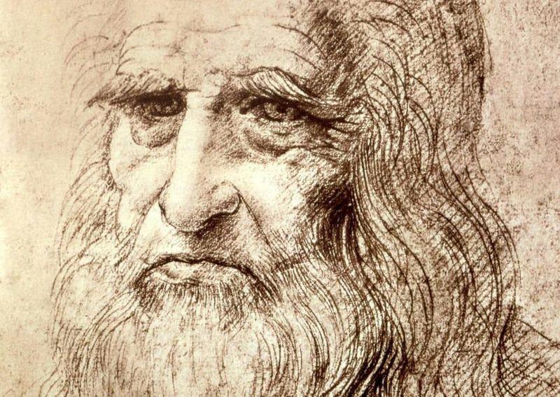 10. Леонардо да Винчи Леонардо да Винчи играл на нескольких музыкальных инструментах и даже изобрел