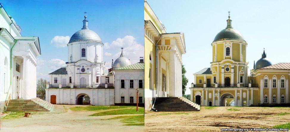Нилов монастырь, Тверь. 1910/2010. Фото: В. Ратников.