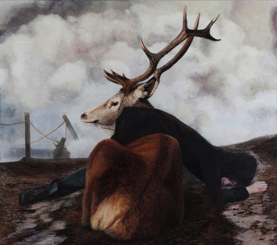 В созданных этим норвежским художником неоднозначных сценариях, странной палитрой переплетаются мифы