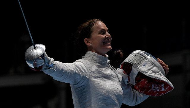 Фехтовальщица Софья Великая благополучно стартовала волимпийском турнире