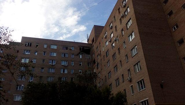 ВКраснодаре отбытового газа взорвался дом