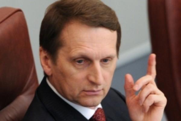 Сергей Нарышкин объявил оготовности остаться спикером Государственной думы