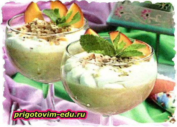 Десерт «Абрикосовое чудо»