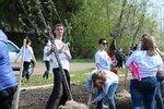 Закладка яблоневого сада ко Дню Победы в Павловском Посаде