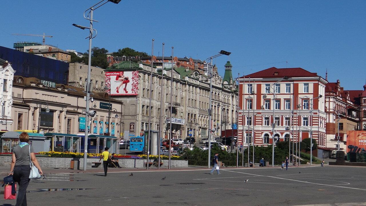 Владивосток. Центральная площадь.