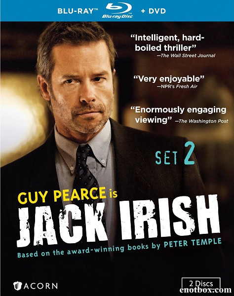 Джек Айриш (1-2 сезоны: 1-3 серии из 3) / Jack Irish / 2012-2014 / ПМ (Agatha Studdio, AlexFilm), СТ / BDRip + BDRip (720p)