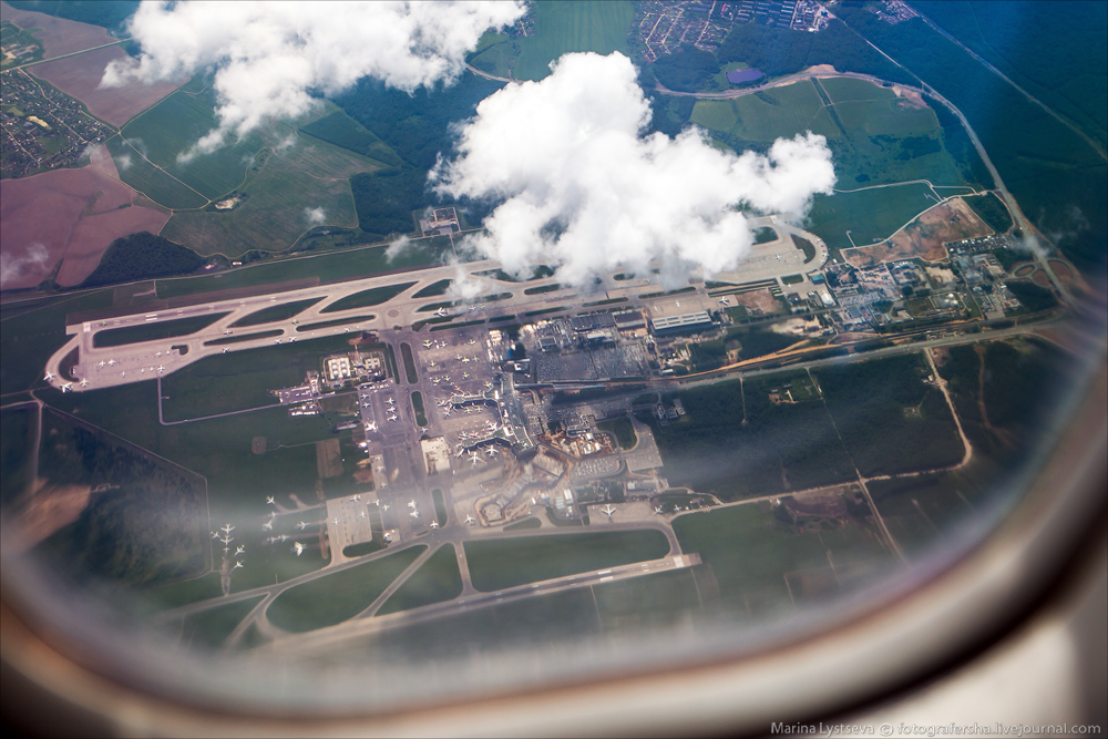 Аэропорты сверху и не только они