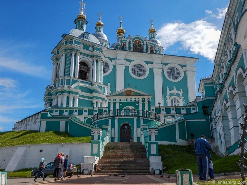 Успенский собор и Соборная колокольня, Смоленск