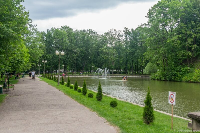 Лопатинский сад, пруд, Смоленск
