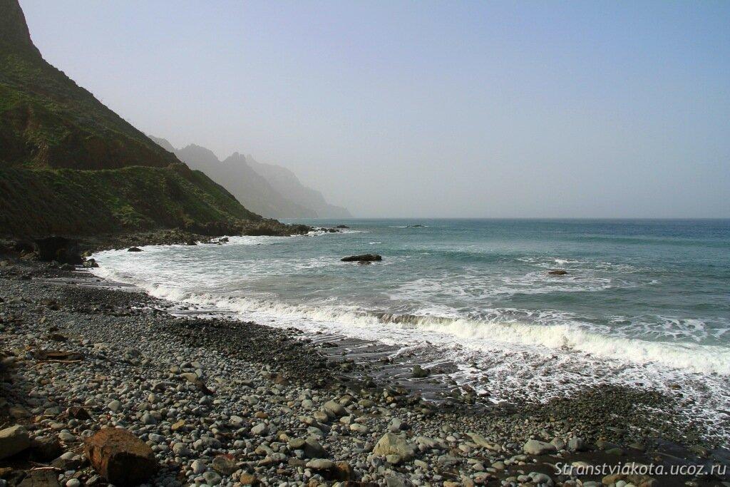 Тенерифе север, дикие пляжи