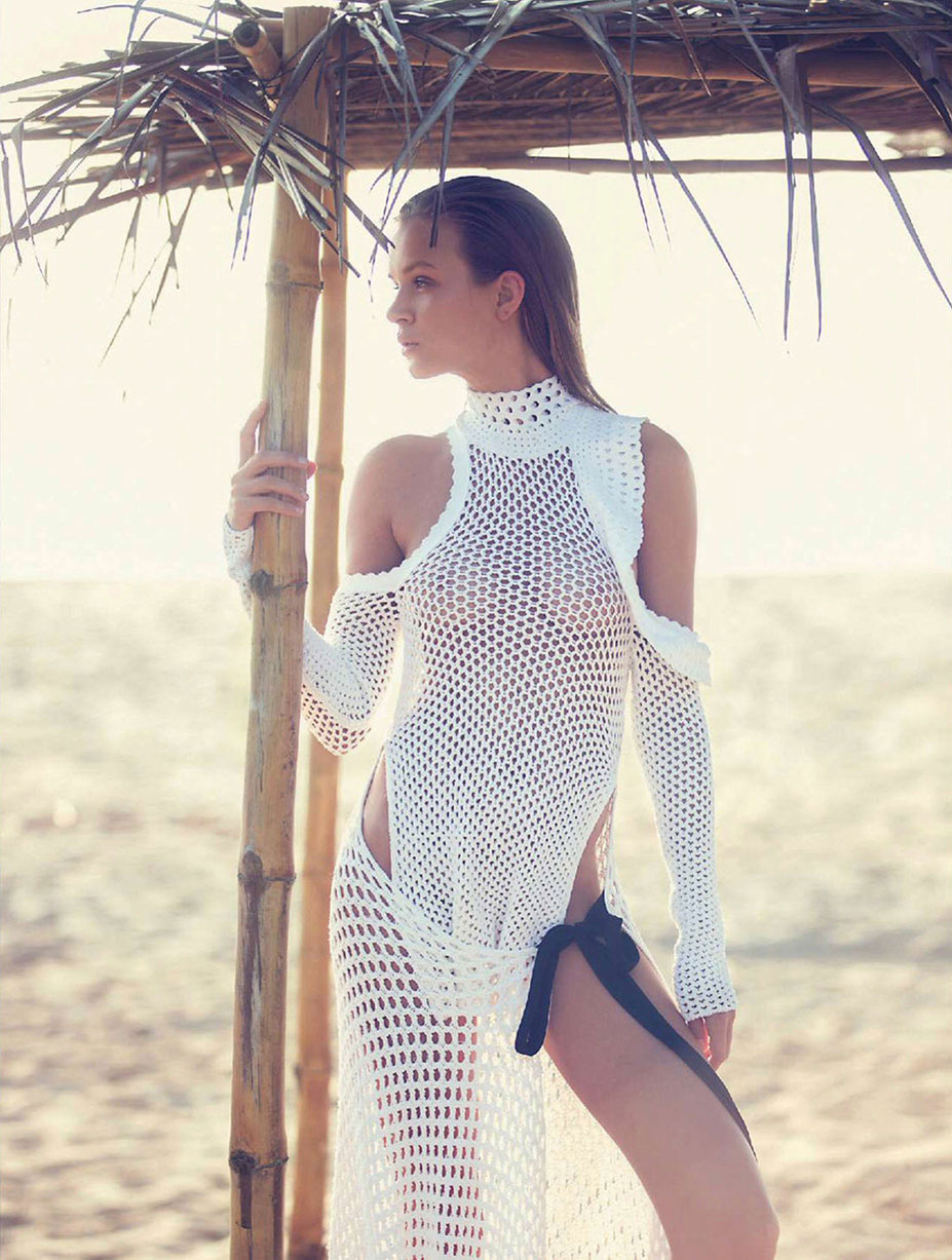 Джозефин Скривер / Josephine Skriver by David Bellemere in Marie Claire Italy may 2016