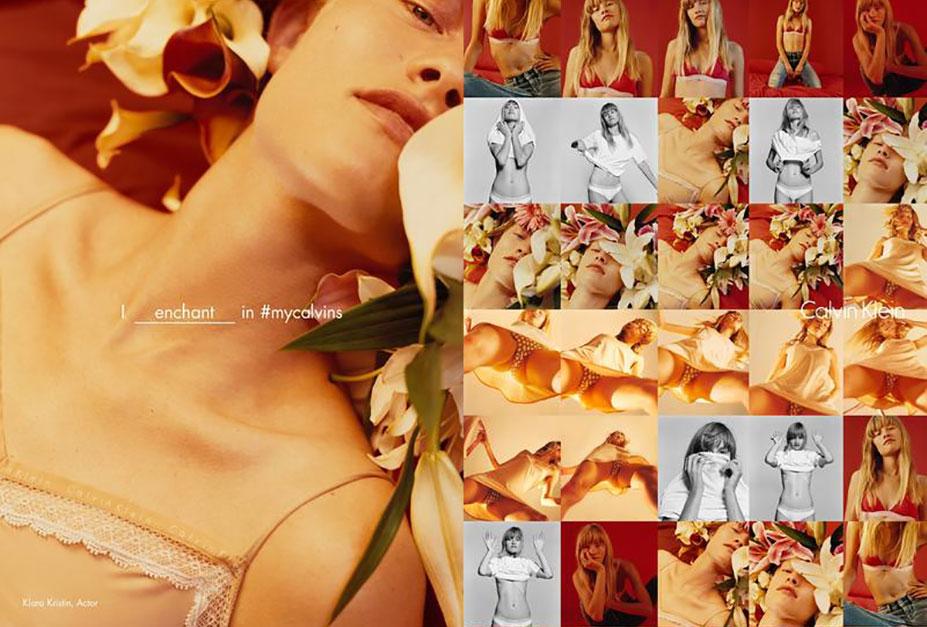 Я очаровываю / I enchant - Klara Kristin - Calvin Klein Spring 2016 Global Campaign by Harley Weir