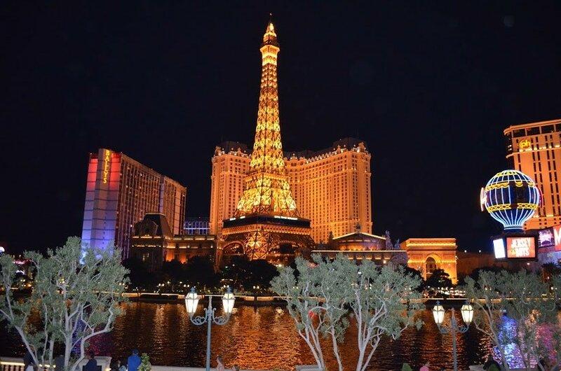 Мини-Париж в Лас-Вегасе