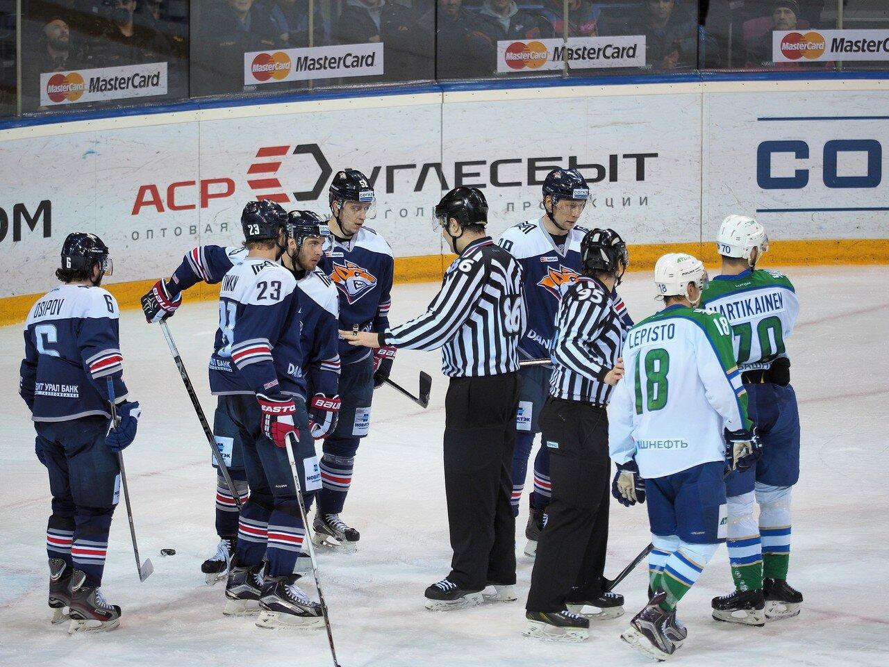 32Плей-офф 2016 Восток Финал Металлург - Салават Юлаев 25.03.2016