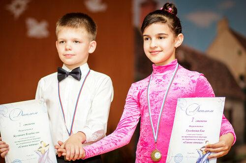 В гимназии прошел конкурс бальных танцев. 2016