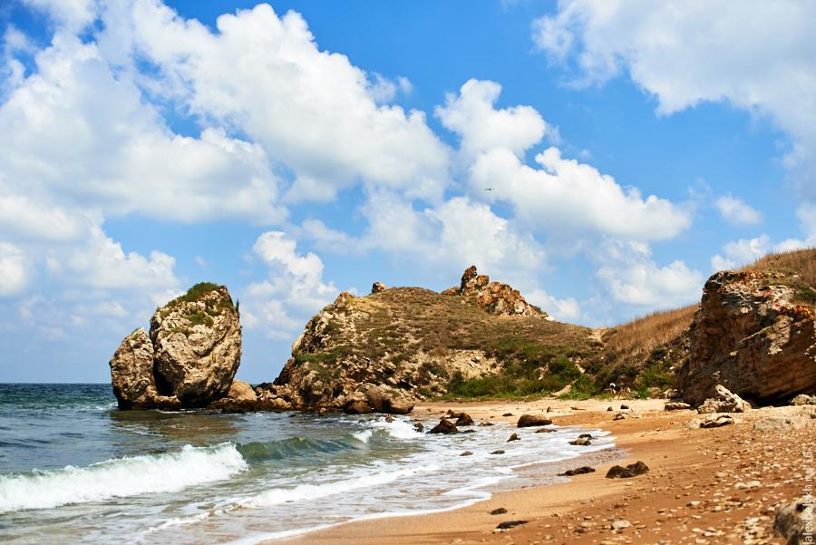 мыс Зюк, Генеральские пляжи