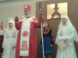 Социальная служба ПС устроила праздник детям бойцов ДУК