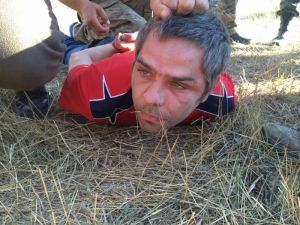 "На блокпосту ""Пр····о се····а"" в Каланчаке задержали сепаратистов 2"