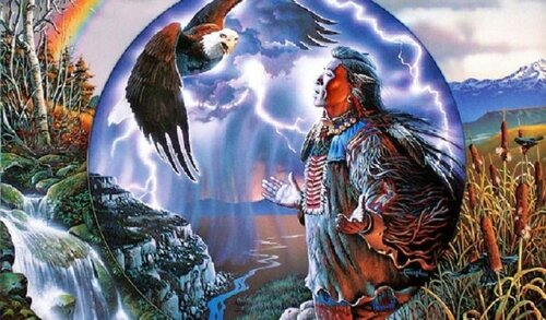 Общение шамана с природой