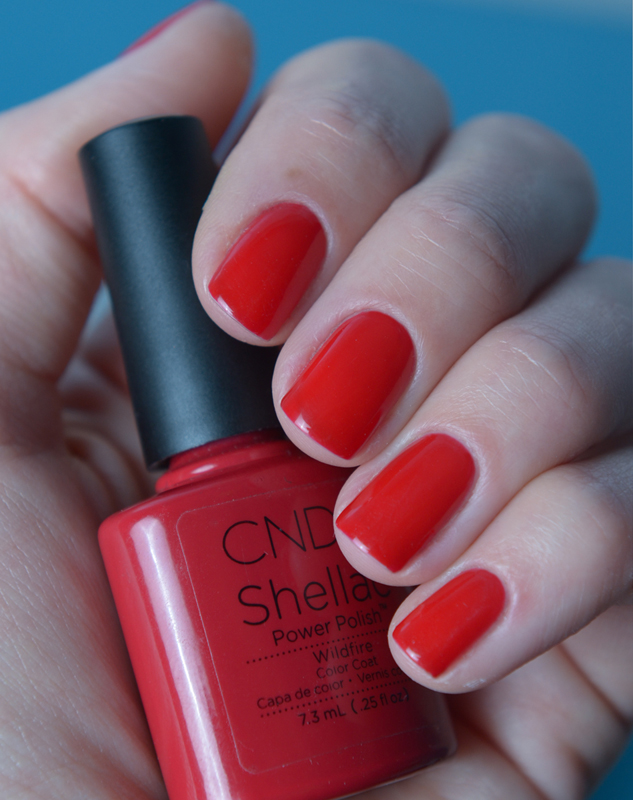 CND Shellac Wildfire