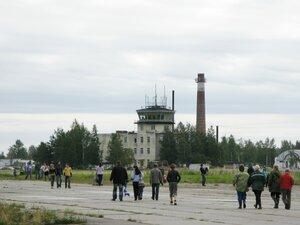 День воздушного флота на аэродроме в Кречевицах - командно-диспетчерский пункт