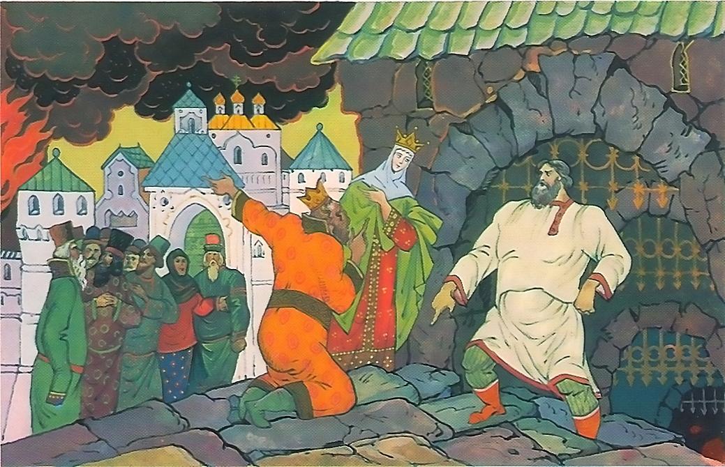 Илья муромец и калин царь картинки к былине
