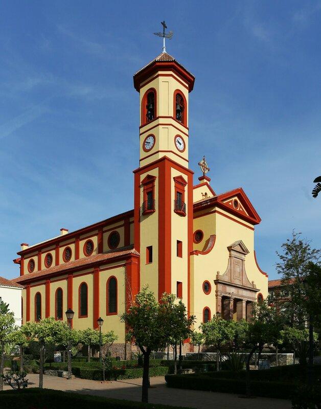 Малага. Церковь Сан-Хосе Обреро (Parroquia San José Obrero)