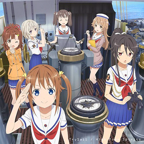 TrySail - High Free Spirits - Cover_02