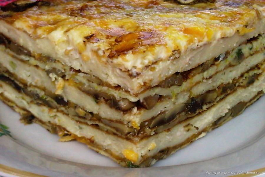 Пирог «Закусочный»! Советы, как приготовить вкусные блюда
