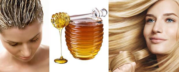 Натуральный свежий мед не только помогает вернуть волосам природный цвет, но и укрепляет их, пи